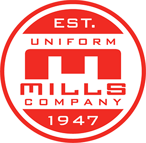 mills uniforms logo